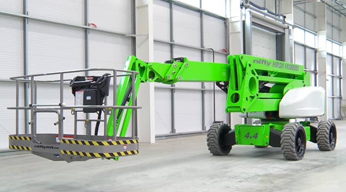 Knappebilde for Niftylift Hybridlifter
