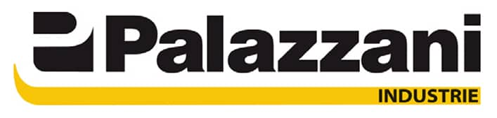 Merkevare logo for liftprodusenten Palazzani