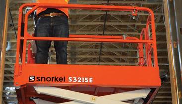 Elektrisk Sakselift - Snorkel S3215E