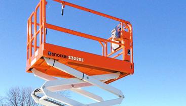 Elektrisk Sakselift - Snorkel S3220E knappebilde