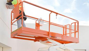 Elektrisk Sakselift - Snorkel S4732E knappebilde