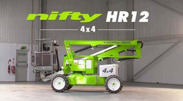 Bomlift - Nifty HR12 4x4 knappebilde