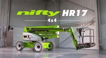Bomlift - Nifty HR17 4x4 knappebilde