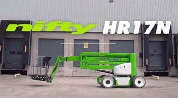 Narrow lift - 17m arbeidshøyde - NiftyLift
