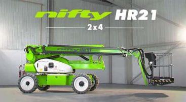 Bomlift - Nifty HR21 2x4 knappebilde