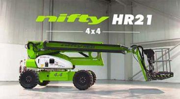 Bomlift - HR21 4x4 knappebilde